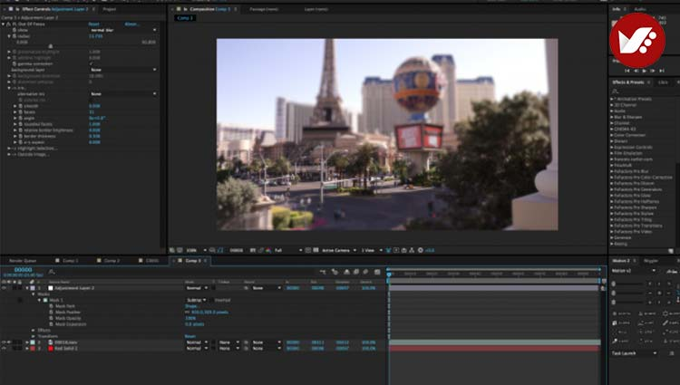Lenscare aftereffects - 10 پلاگین شگفت انگیز Adobe After Effects