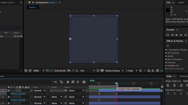 Preview again - طراحی انیمیشنی بارگذاری لوگو در After Effects