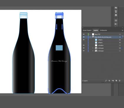 prepare Illustrator graphics for AfterEffects 3 2 - آماده سازی تصویر ساخته شده در ایلاستریتور برای افترافکت